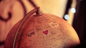 amor a distancia bola del mundo
